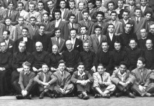 1949 Ginnasio e insegnati del liceo